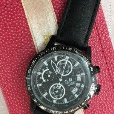 Relojes - Racer: RELOJ RACER CHRONOGRAF CALENDAR COMO NUEVO. Lote 116932075