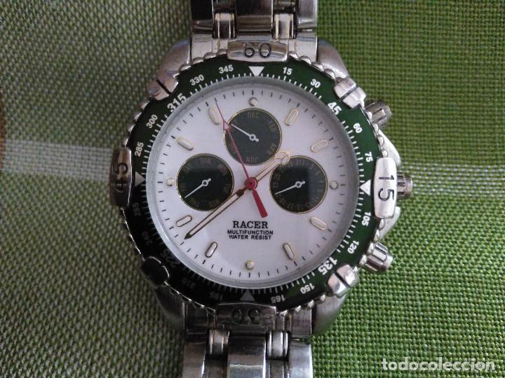 Relojes - Racer: RELOJ RACER - MULTIFUNCION - FUNCIONANDO CON EXACT. BATERIA NUEVA. DESCRIP. Y FOTOS VARIAS. - Foto 13 - 120387175