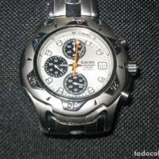 Relojes - Racer: RACER CHRRONOGRAPH 200M IMPECABLE EN ACERO MADE IN JAPAN. Lote 124560403