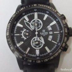 Relojes - Racer: RELOJ CRONÓGRAFO RACER DE CUARZO. Lote 126027907