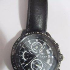 Relojes - Racer: RELOJ CRONÓGRAFO RACER DE CUARZO, CON CALENDARIO. Lote 132738162