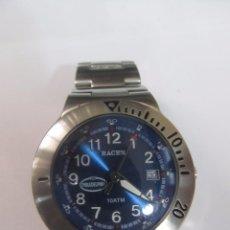 Relojes - Racer: RELOJ RACER DE CUARZO CON CALENDARIO. Lote 133735474