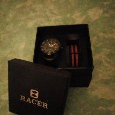 Relojes - Racer: RELOJ DEPORTIVO RACER DE CABALLERO,NUEVO CON ESTUCHE ORIGINAL.. Lote 143753934
