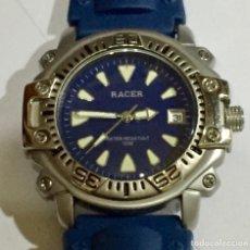 Relojes - Racer: RACER QUARTZ CAJA ALL ACERO DE 42,6 M/M.C/C.CALENDARIO,SEGUNDERO. . Lote 146707010
