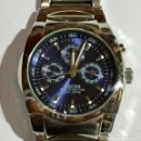 Relojes - Racer: RACER 8 P05775-3,MULTIFUNCCION, TODO DE ACERO 43 M/M.C/C.PULSERA MAX 205 M/M.. Lote 147360082