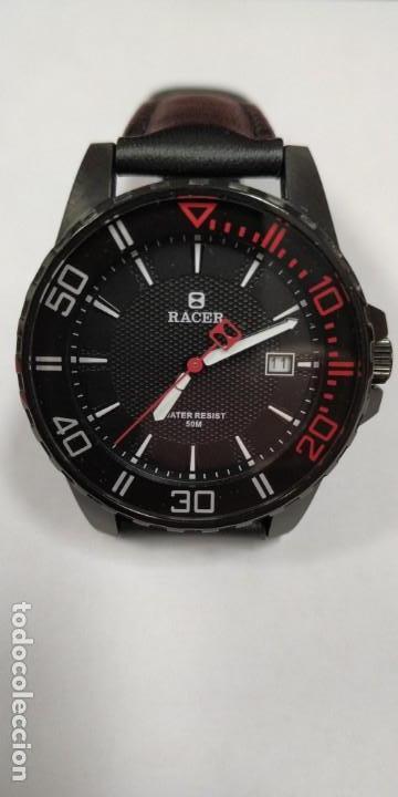 Relojes - Racer: Reloj Racer Resistente al agua 50 mts - Foto 3 - 155289462