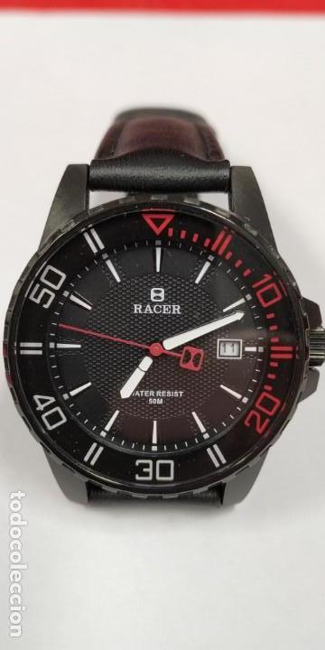 Relojes - Racer: Reloj Racer Resistente al agua 50 mts - Foto 4 - 155289462
