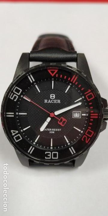 Relojes - Racer: Reloj Racer Resistente al agua 50 mts - Foto 5 - 155289462