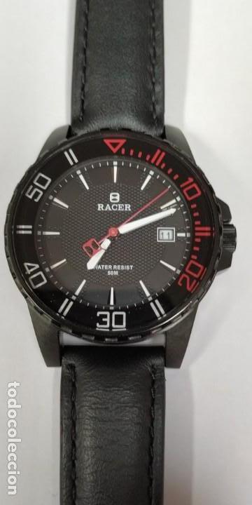 Relojes - Racer: Reloj Racer Resistente al agua 50 mts - Foto 7 - 155289462