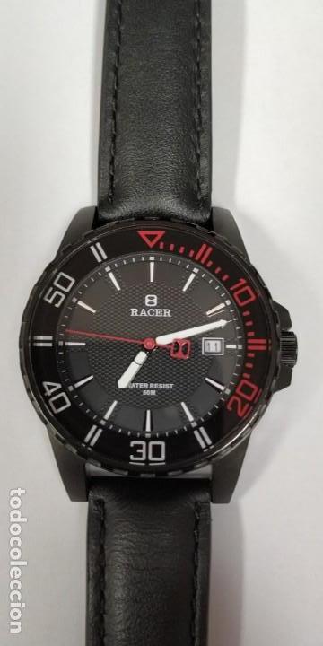 Relojes - Racer: Reloj Racer Resistente al agua 50 mts - Foto 13 - 155289462