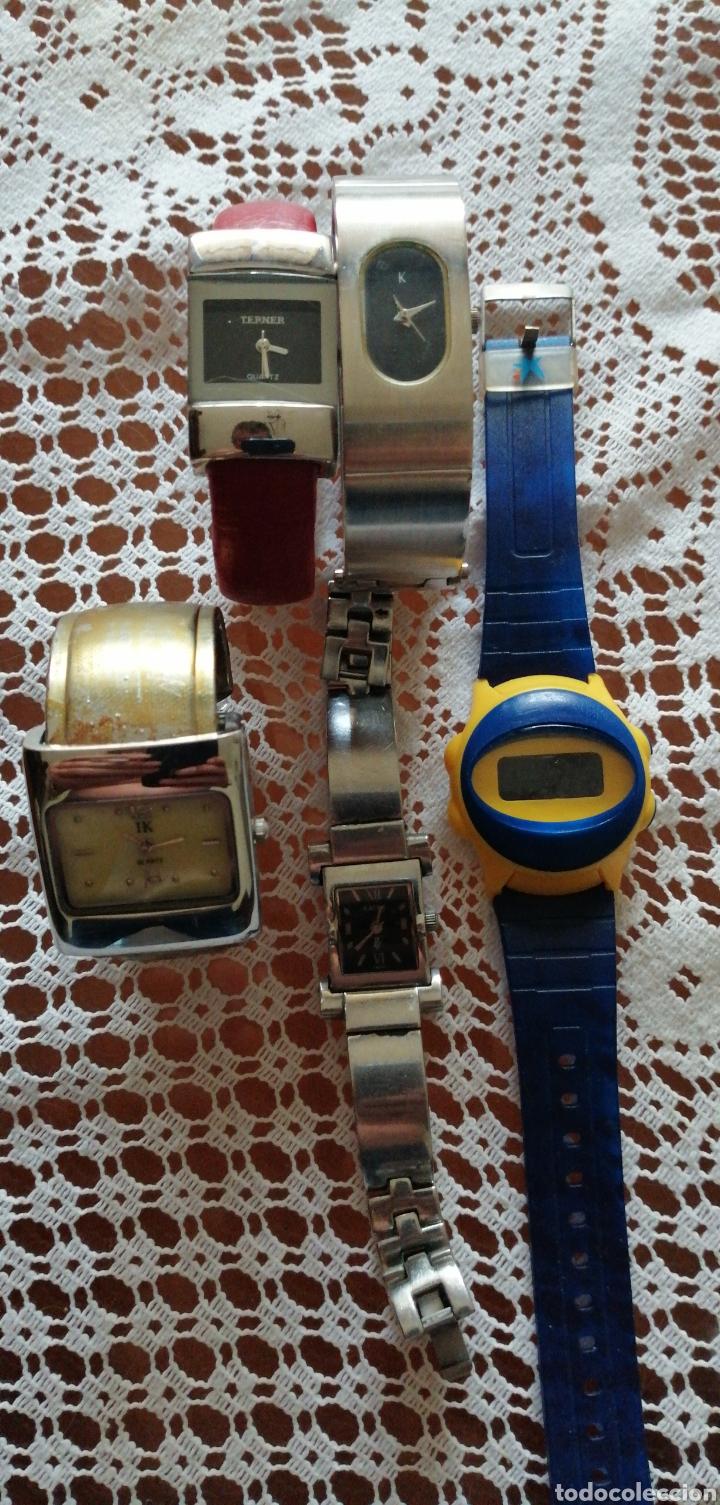 LOTE DE 5 RELOJES DE SEÑORA DE DISTINTAS MARCAS (Relojes - Relojes Actuales - Racer)