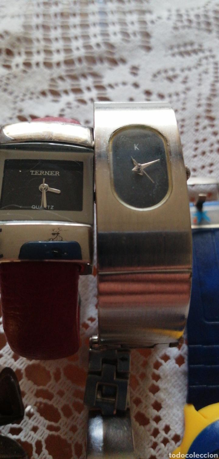 Relojes - Racer: LOTE DE 5 RELOJES DE SEÑORA DE DISTINTAS MARCAS - Foto 4 - 164850365