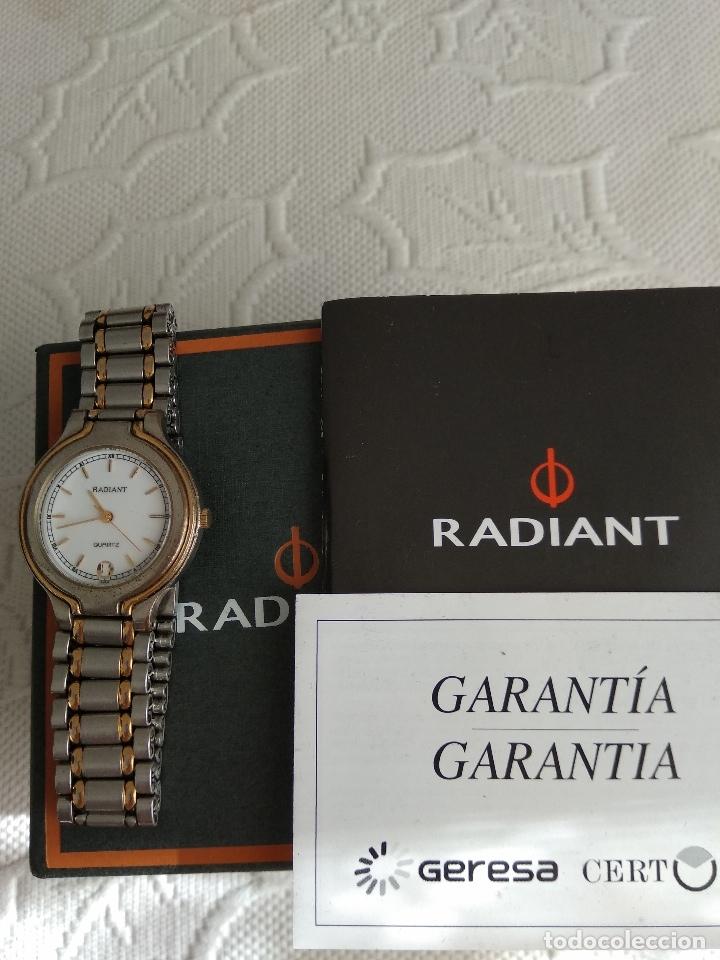 Relojes - Racer: Reloj unisex, Radiant, funcionando, estuche y papeles compra - Foto 3 - 181557425