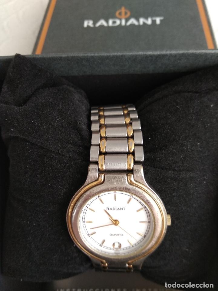 Relojes - Racer: Reloj unisex, Radiant, funcionando, estuche y papeles compra - Foto 4 - 181557425