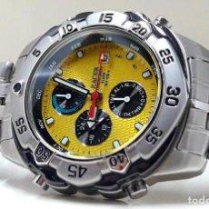 Relojes - Racer: RELOJ CRONO-ALARMA RACER EN ACERO AÑOS 90 DE CUARZO Y NUEVO. Lote 184717900