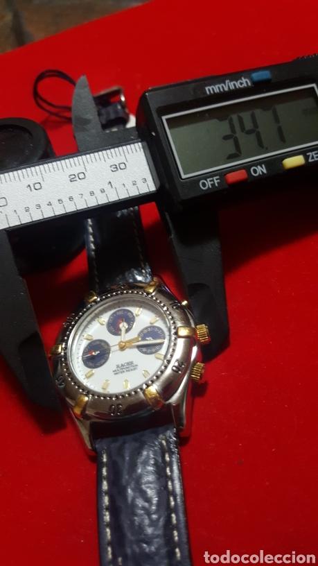Relojes - Racer: Reloj RACER MULTIFUNCION WATER RESISTEN CUARZO NUEVO SIN ESTRENAR FUNCIONA PERFECTAM DIÁMETRO 34.7 M - Foto 7 - 190550183