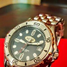 Relojes - Racer: FORMIDABLE RELOJ RACER CALENDARIO WATER RESISTEN 10 ATM CUARZO NUEVO SIN ESTRENAR FUNCIONA PERFECTA. Lote 192032290