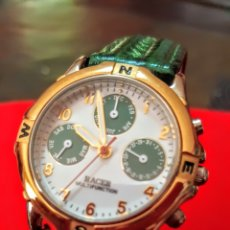 Relojes - Racer: RELOJ RACER MULTIFUNCION NUEVO.SIN.ESTRENAR FUNCIONA PERFECTAMENTE DIÁMETRO 32MILIMTROS. Lote 192035578