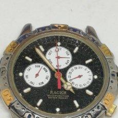 Relojes - Racer: RELOJ RACER MULTIFUNCION FHG6KW001 FUNCIONANDO QUARZ. Lote 195086105