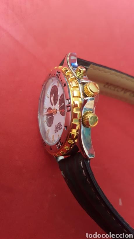 Relojes - Racer: Reloj RACER MULTIFUNCION WUATER RESISTEN NUEVO SIN ESTRENAR FUNCIONA PERFECTAMENTE DIÁMETRO 34.9 MIL - Foto 4 - 195968481