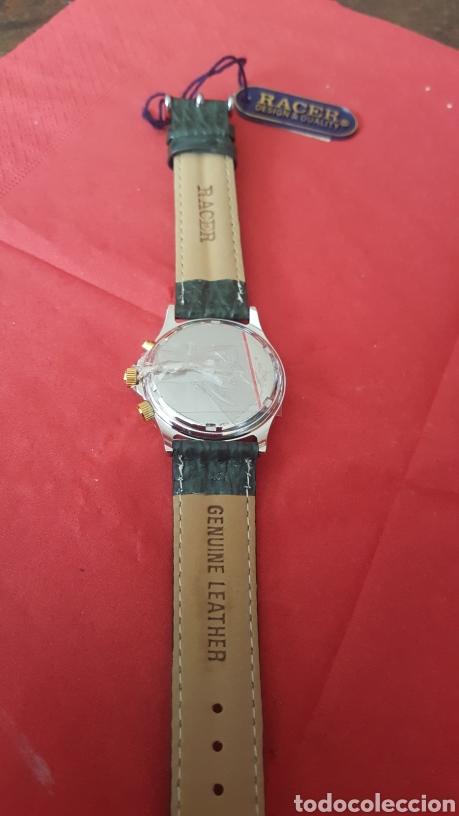Relojes - Racer: Reloj RACER MULTIFUNCION WUATER RESISTEN NUEVO SIN ESTRENAR FUNCIONA PERFECTAMENTE DIÁMETRO 34.9 MIL - Foto 5 - 195968481