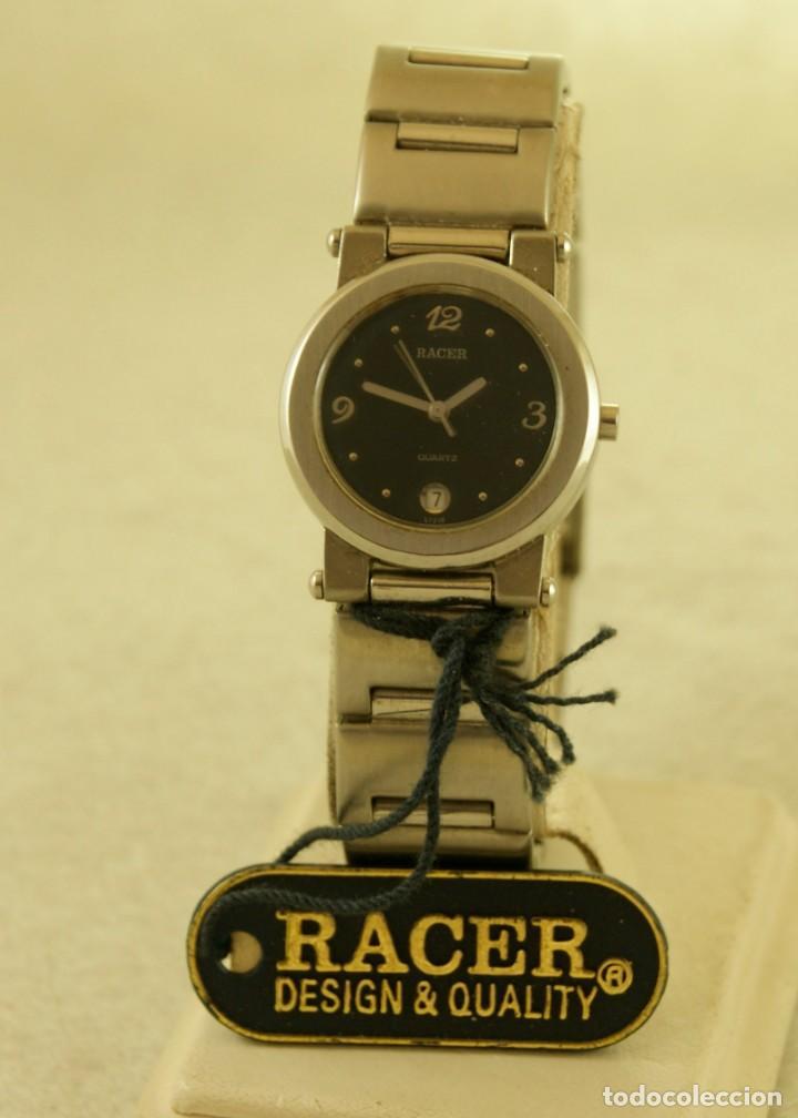 Relojes - Racer: RACER ACERO QUARTZ DE DAMA NUEVO CON ETIQUETAS 16990PTAS - Foto 3 - 197425258