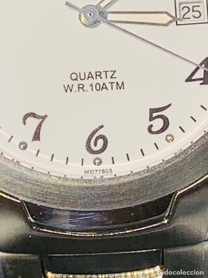 Relojes - Racer: Reloj Racer Quartz Water Resistant 10ATM Stainless Steel. Ed. Espec. Caja y papeles. Nos. Impecable. - Foto 5 - 204762130
