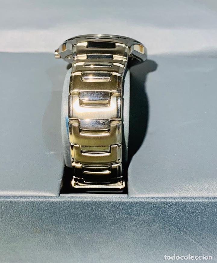 Relojes - Racer: Reloj Racer Quartz Water Resistant 10ATM Stainless Steel. Ed. Espec. Caja y papeles. Nos. Impecable. - Foto 8 - 204762130