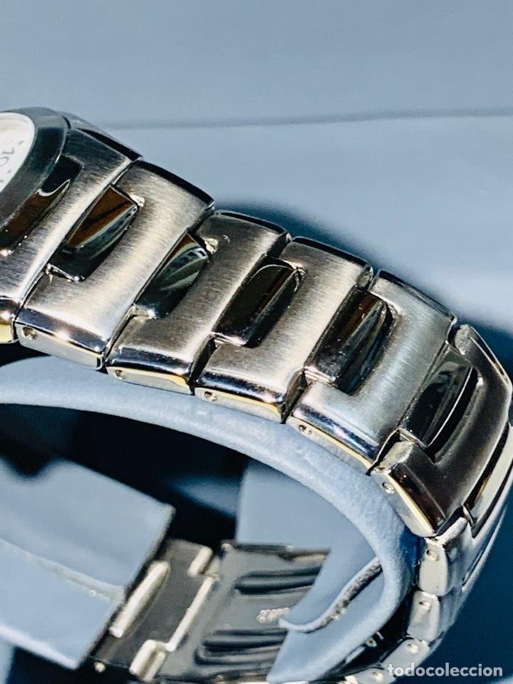 Relojes - Racer: Reloj Racer Quartz Water Resistant 10ATM Stainless Steel. Ed. Espec. Caja y papeles. Nos. Impecable. - Foto 12 - 204762130