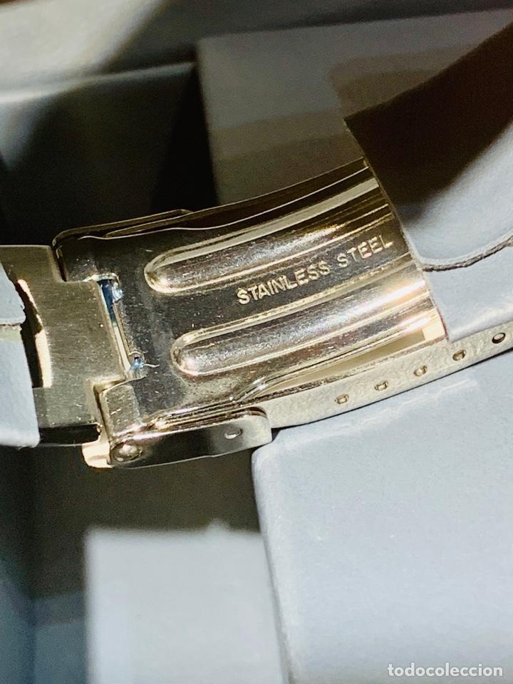 Relojes - Racer: Reloj Racer Quartz Water Resistant 10ATM Stainless Steel. Ed. Espec. Caja y papeles. Nos. Impecable. - Foto 13 - 204762130