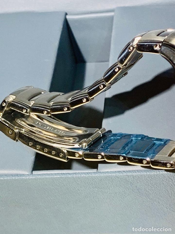 Relojes - Racer: Reloj Racer Quartz Water Resistant 10ATM Stainless Steel. Ed. Espec. Caja y papeles. Nos. Impecable. - Foto 14 - 204762130