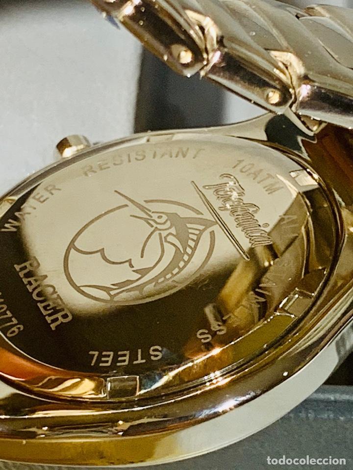 Relojes - Racer: Reloj Racer Quartz Water Resistant 10ATM Stainless Steel. Ed. Espec. Caja y papeles. Nos. Impecable. - Foto 17 - 204762130