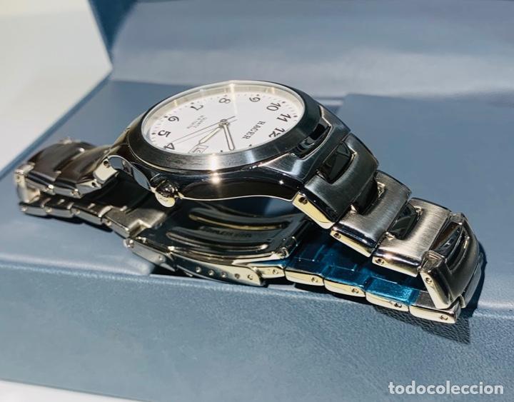 Relojes - Racer: Reloj Racer Quartz Water Resistant 10ATM Stainless Steel. Ed. Espec. Caja y papeles. Nos. Impecable. - Foto 24 - 204762130