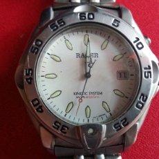 Relojes - Racer: RELOJ RACER KINETIC SYSTEM W.R.200M.MIDE 40MM DIAMETRO .NO VA BIEN. Lote 208371050