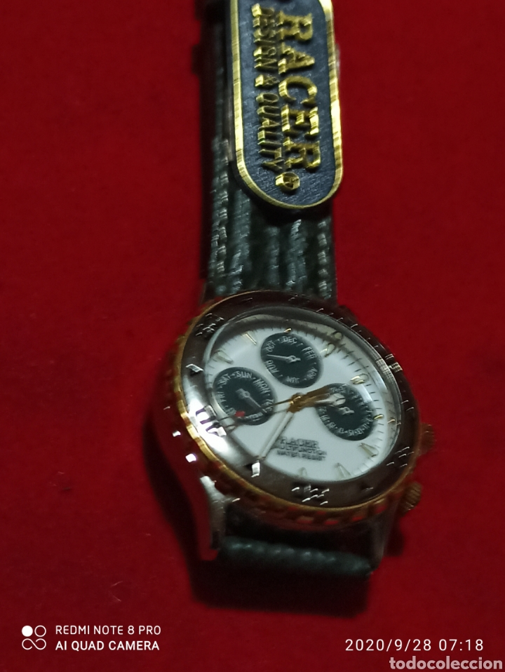 Relojes - Racer: Reloj RACER MULTIFUNCIÓN CUARZOS 3ATM NUEVO SIN ESTRENAR FUNCIONA PERFECTO - Foto 5 - 219034381