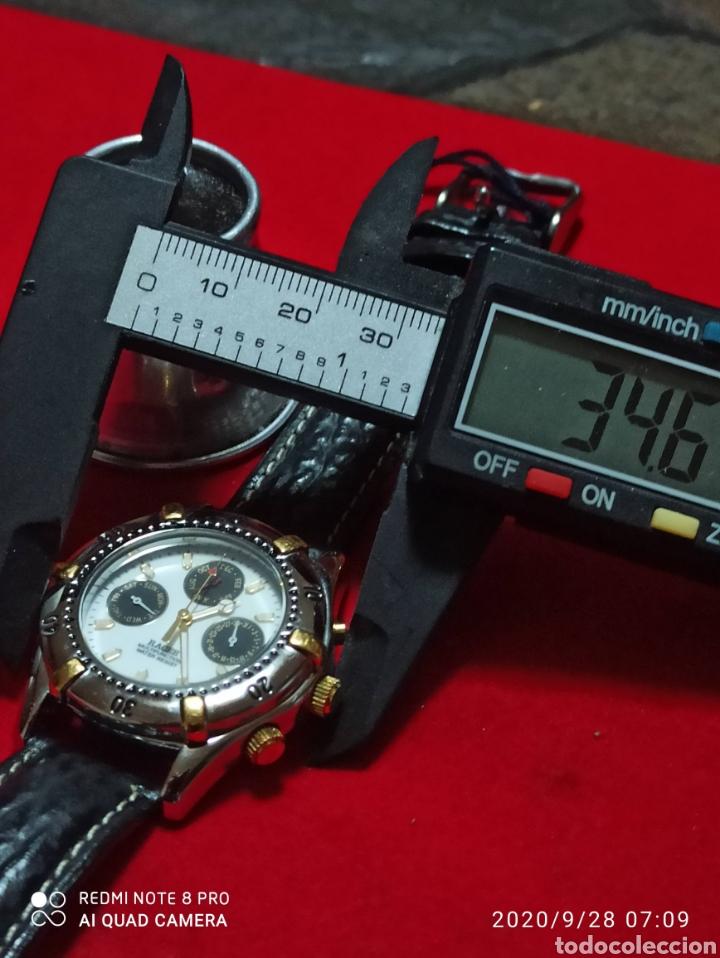 Relojes - Racer: RELOJ RACER MULTIFUNCIÓN CUARZO NUEVO SIN ESTRENAR FUNCIONA PERFECTO 3STM - Foto 5 - 219074700