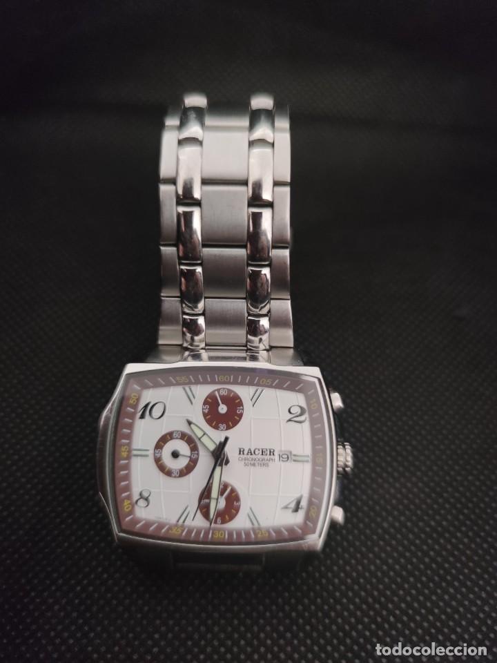 PRECIOSO RELOJ RACER CRONOGRAFO YM6736-3, PERFECTO. (Relojes - Relojes Actuales - Racer)