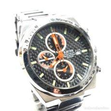 Relojes - Racer: RELOJ DEPORTIVO CRONO ALARMA RACER DE ACERO. Lote 234471040