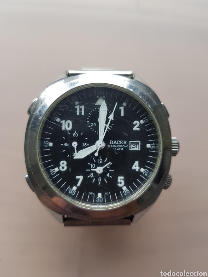 Relojes - Racer: RACER HFA701 CRONOGRAFO Y ALARMA 42MM ACERO - Foto 5 - 245166845