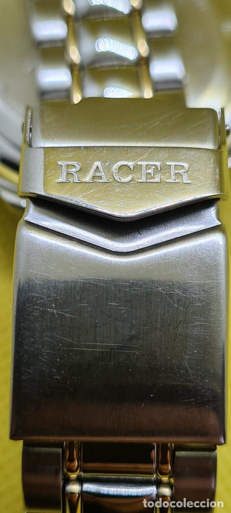 Relojes - Racer: Reloj caballero RACER cuarzo crono, calendario, varias alarmas, fecha, caja, correa acero bicolor. - Foto 15 - 247989315
