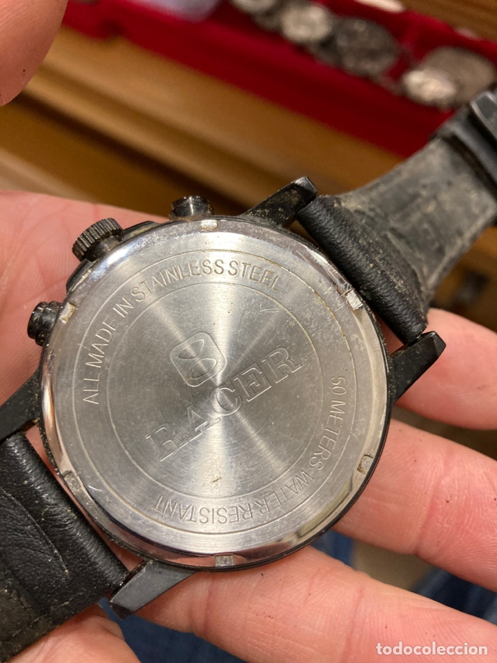 Relojes - Racer: Reloj de pulsera racer, hay que cambiarle la pila - Foto 2 - 253803450