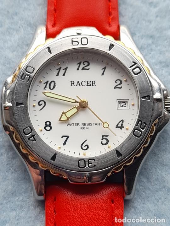 Relojes - Racer: Reloj Marca Racer cuarz de Caballero. Funcionando - Foto 4 - 254357475