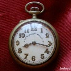 Relojes - Racer: 8- RELOJ BOLSILLO GRE ROSKOPF PATENT, A VECES ARRANCA PERO SE PARA ENSEGUIDA, (PUEDE SER UN RUBI). Lote 276448563
