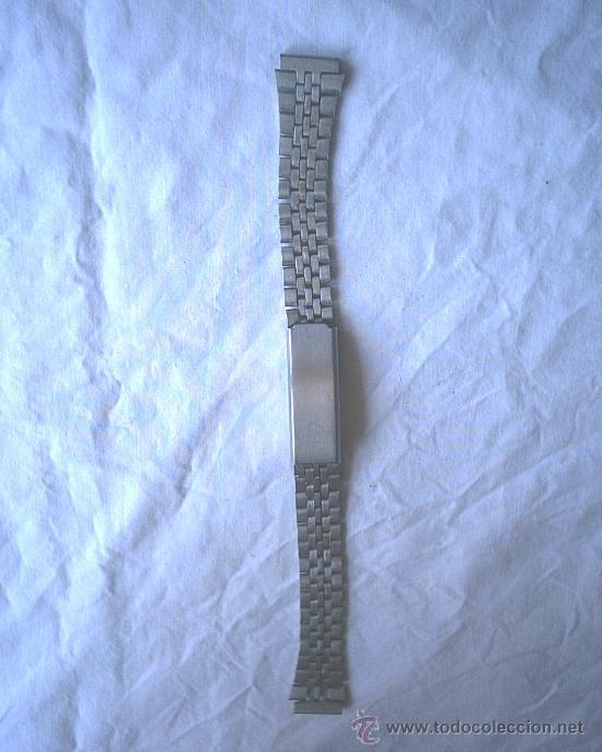 CADENA ACERO INOXIDABLE (Relojes - Recambios)