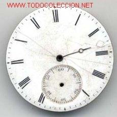 Recambios de relojes: ESFERA ESMALTADA RELOJ BOLSILLO 39MM. Lote 10241728