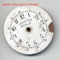 Recambios de relojes: ESFERA ESMALTADA RELOJ BOLSILLO 43MM. Lote 15556746