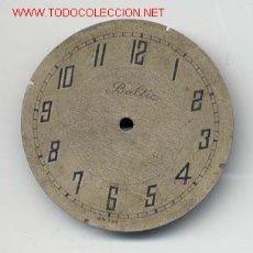 Recambios de relojes: ESFERA RELOJ BOLSILLO 43MM. Lote 6622589