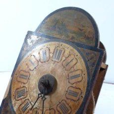 Recambios de relojes: RELOJ TIPO RATERA S. XIX. SIN MANIPULAR Y POR RESTAURAR. TAMAÑO FRONTAL: 34 X 29 CM.. Lote 21547891
