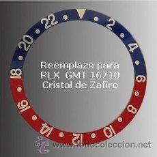Peças de reposição de relógios: RLXI5 INSER REEMPLAZO PARA ROLEX MOD. GMT 16710. Lote 54464587
