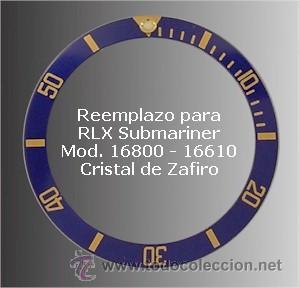 INSER 16800 Molelos Modelo 16610 RLXI9 de Submariner ROLEX ALUMINIO tsrQhdCx